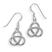 Trinity Knot French Wire Earrings
