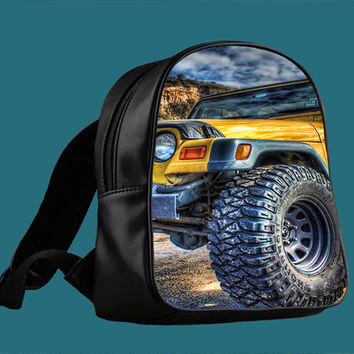 Jeep Wrangler for Backpack / Custom Bag / School Bag / Children Bag / Custom School Bag *