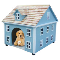 Nantucket Dog House in Blue