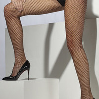 Fishnet Tights - Black  Fv-528