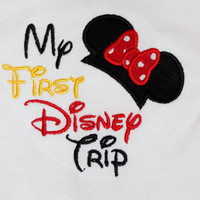 "Disney Vacation ""My First Disney Trip"" Onesuit or Tshirt"
