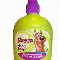 Scooby-Doo Hand Soap for Kids, Ghostly Grape Scented, 7.5 fl oz