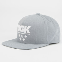 Dgk Game Time Mens Snapback Hat Black/Grey One Size For Men 26776912701
