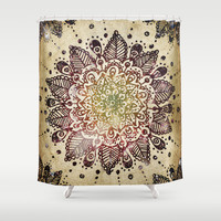 Blackberry Burst Shower Curtain by Jenndalyn | Society6