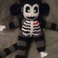 Zombie Sock Monkey - Made to Order
