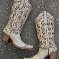 Corral Braided Cowboy Boot