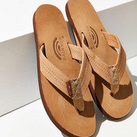 Rainbow Premier Leather Flip-Flop - Urban Outfitters