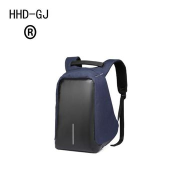 HHD-DJ Smart Urban Anti Theft Backpack Best Anti-Theft Usb Charging Travel Backpack Hidden Zipper Waterproof Laptop Bag