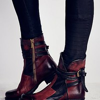 Free People Burke Patchwork Moto Boot