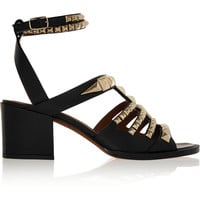 Givenchy - Sandals in studded black leather
