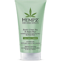 Hempz Exotic Green Tea & Asian Pear Exfoliating Herbal Cleansing Mud and Body Mask Ulta.com - Cosmetics, Fragrance, Salon and Beauty Gifts
