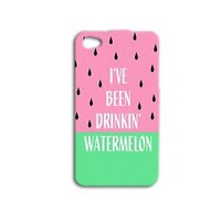 Funny Beyonce Phone Case Cute Watermelon iPhone 5c Cover iPhone 4 4s 5 5s 6 Food