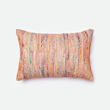 Loloi Rust / Multi Decorative Throw Pillow (P0242)