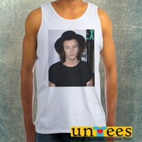 Harry Styles One Direction 2 Clothing Tank Top For Mens