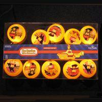Beatles Novelty Christmas Lights - Officially Licensed
