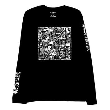 """WIDO VICES"" L/S TEE by Aaron Kai"