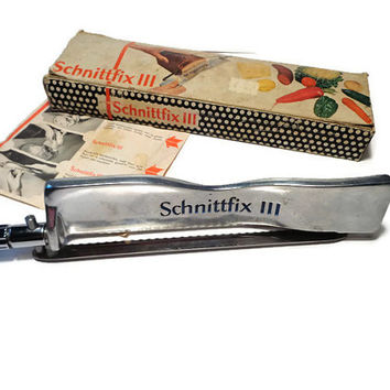 Schnittfix III  . Adjustable Rapid Slicer . Bread Knife .