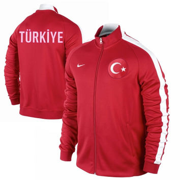 Nike Turkey N98 Full Zip Track Jacket - Red