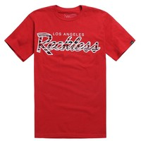 Young & Reckless Tribal OG Reckless T-Shirt - Mens Tee - Red