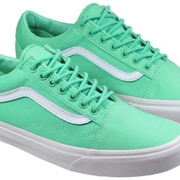 Vans Trainers Mens Old Skool Mint Canvas
