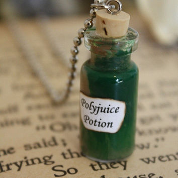 Harry Potter Potion - Polyjuice Potion Vial Necklace