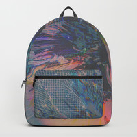 Glitch Wave Backpack by duckyb