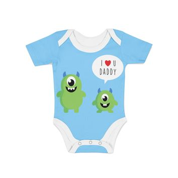 Infant Monster and Daddy Onesuit