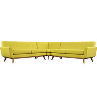 Engage L-Shaped Sectional Sofa Sunny
