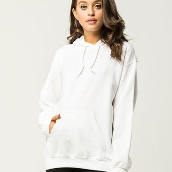 WHITE FAWN Pullover Womens Hoodie | Clothing
