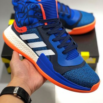 ADIDAS Original marquee boost Basketball Mid cheap Men's and women's adidas shoes