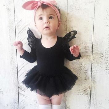 Sun Moon Kids Baby Dress Cotton Fashion Summer Dresses A Year Girls Clothes Cute Princess Costume Lovely Costume For Kids