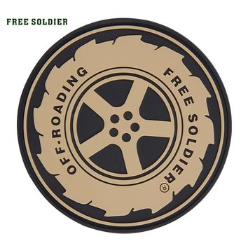 FREE SOLDIER outdoor tactical patch military patch for Clothing coat bag ,army morale patches for military Fans