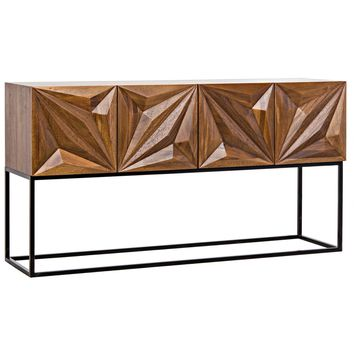 Noir Zurich Console | New Furniture | What's New! | Candelabra, Inc.