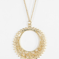 Filigree Pendant Necklace - Urban Outfitters