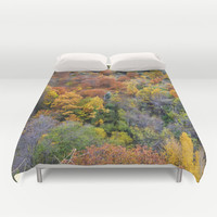 Full of colors Duvet Cover by Guido Montañés