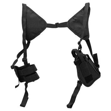 Police Shoulder Holster - Black