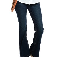 Blue Classic Flared Jeans | $10 | Cheap Trendy Jeans Chic Discount Fashion for Women | ModDeals.com