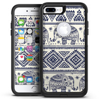 Sacred Elephant Pattern - iPhone 7 or 7 Plus Commuter Case Skin Kit