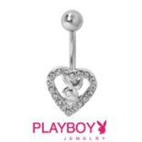 SILVER MINI PLAYBOY BUNNY Pave CZ EARRINGS ON French Wires