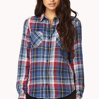 On The Range Plaid Flannel Shirt