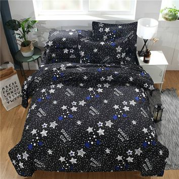 Home Living Comforter Duvet Cover Bed and Pillow Covers Twin Queen Size and King Size Bedding Set