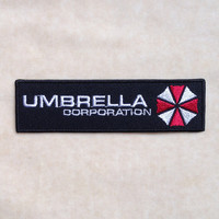 Umbrella Corporation Resident Evil Iron On Patch