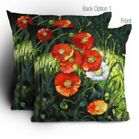 DENY Designs Home Accessories | Janet Thompson Splendor In The Grass Throw Pillow