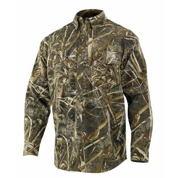 Wasatch Long Sleeve Shirt, Realtree Max 5 Camo - Medium