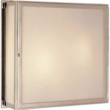 Visual Comfort and Company TOB2004PN Polished Nickel Mercer Square Box Light