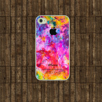 Iphone case  Colorful Apple  Iphone 4 case  Iphone by TitanCases