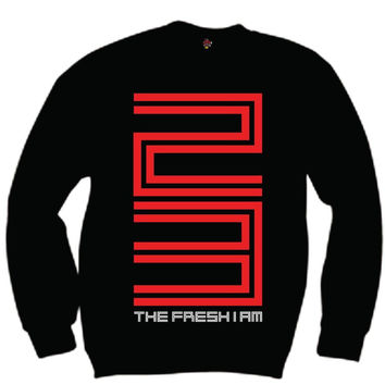 The Fresh I Am Clothing 23 Bred 11 Low Crewneck