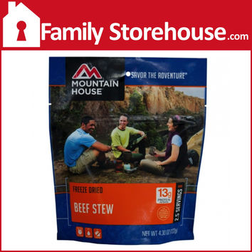 Mountain House Beef Stew