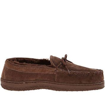 CREYONIG Old Friend Loafer Moccasin- Dark Brown Slipper