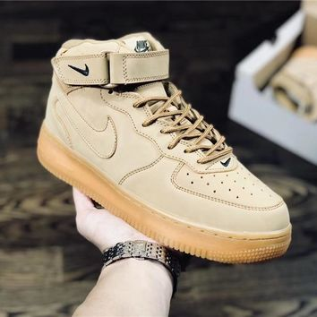 Nike Air Force 1 Low Khaki Shoe Size 36-45